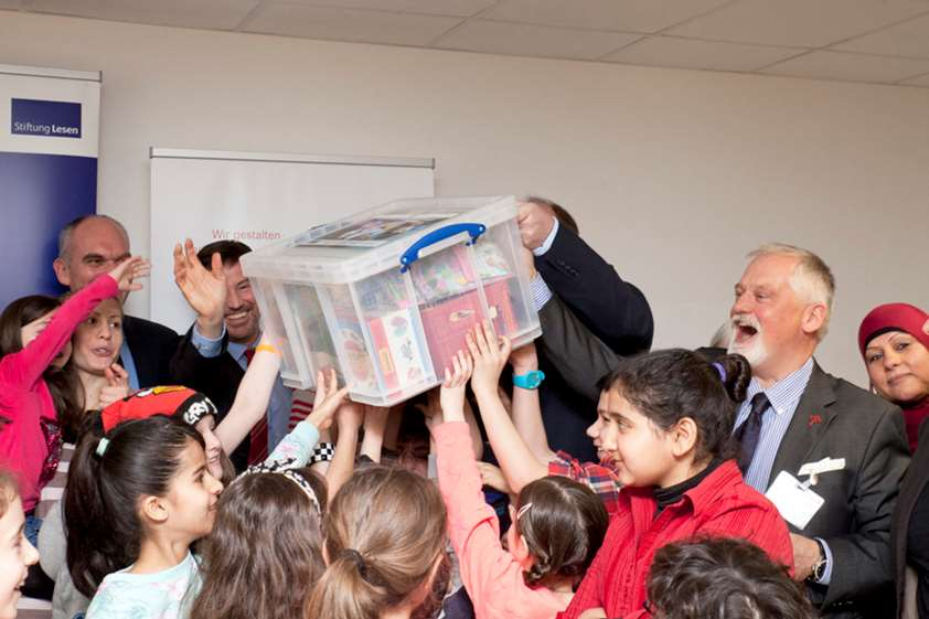Books for refugee children
